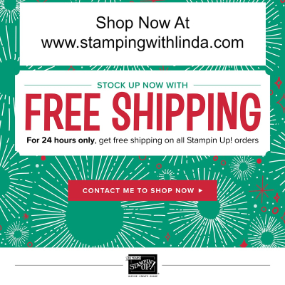 #freeshippingstampingup #lindabauwin