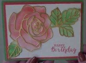 #rosewonderstampset #lindabauwin