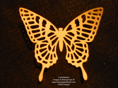 Dryer Sheet Thinlit, Butterfly Thinnlit_Linda Bauwin