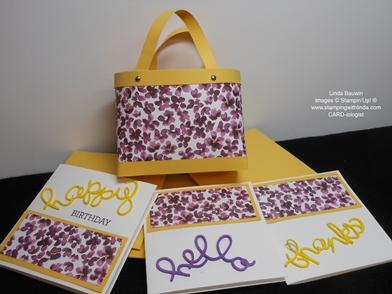 Bag in a Box Purse_Linda Bauwin_Note Cards