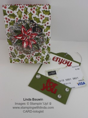 Mini Treat Box Gift Card Linda Bauwin