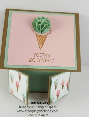 Creative Fold Card Double Dutch  Linda Bauwin