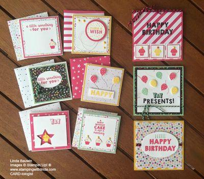 Birthday Note Cards Occasions Catalog Linda Bauwin