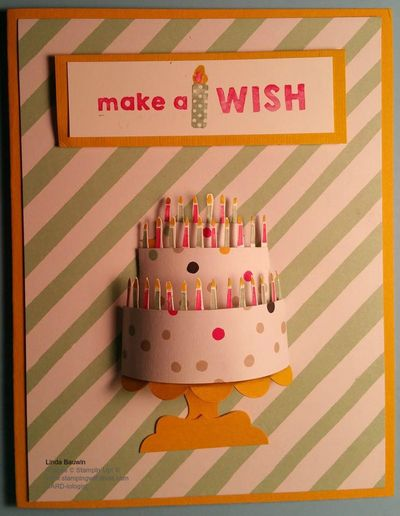 Party Wishes SU! Occassions Catalog Linda Bauwin
