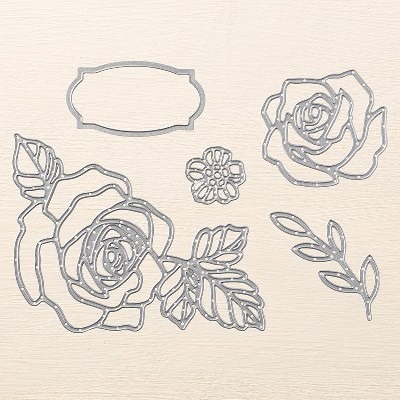 Rose Garden Thinlits Linda auwin