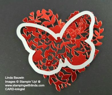 Bloomin' Heart Butterfly Linda Bauwin