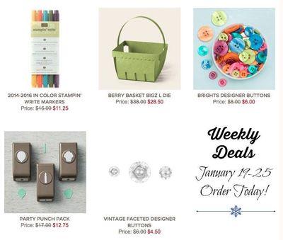 Weekly deals SU! Jan 19