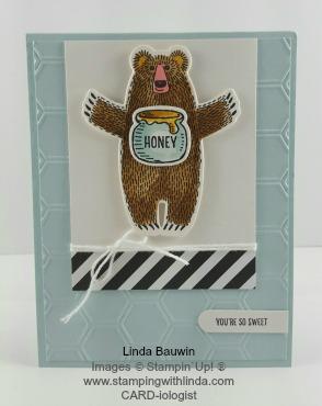 Honey Bear Hugs Linda Bauwin