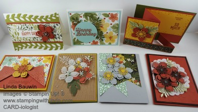Botanical Blooms Stamp of the Month Linda Bauwin