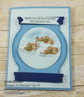 Fish Card Linda Bauwin