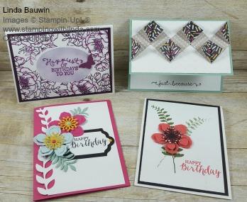 April Card Club Linda Bauwin