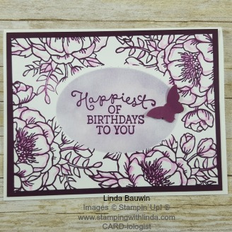Faux Layering Card Linda Bauwin