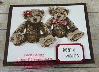#bearhugs #christmasbears #lindabauwin