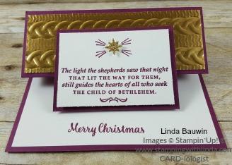 #peekingintotheholidays #lindabauwin