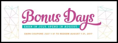 #bonusdays #lindabauwin