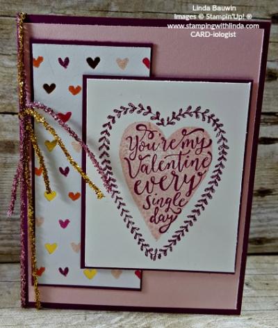 #valentinesdaycard #lindabauwin