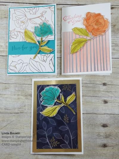 #springtimefoil #notecards #lindabauwin