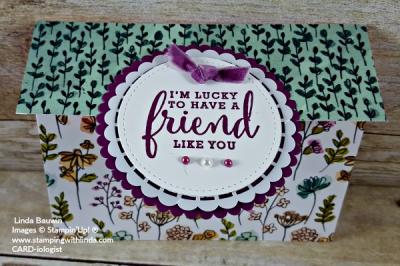 #trifoldcard #crativfoldcards #lindabauwin