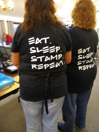 #stampretreat #eatsleepstamp #lindabauwin