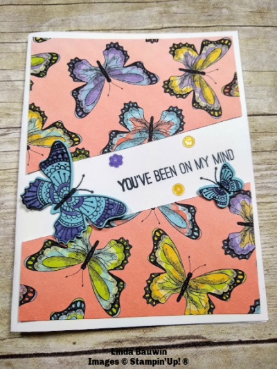 #creativecutcard  #botanicalbutterflies  #lindabauwwin