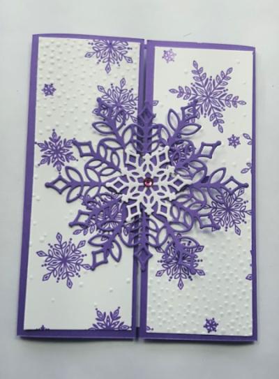 #snowisglistening #creative fold #lindabauwin