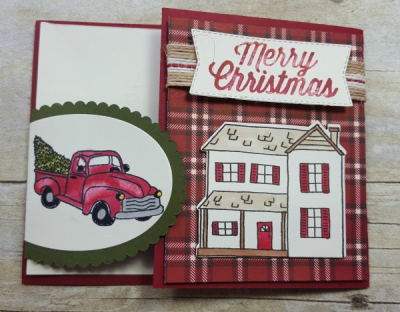 #farmhousechristmascard #lindabauwin