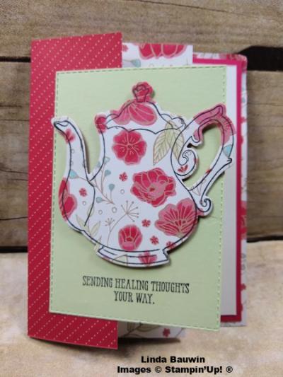 #teatime #accordingfolddesignerseriespaper #lindabauwin