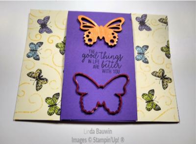 #centeropeningcard  ##botancialbutterflydsp  #butteerflyelements  #lindabauwin