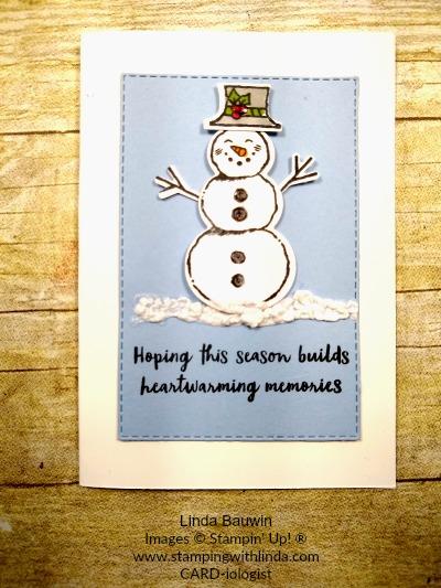 #snowmanseasonbundle  #builderpunches  #stampartus  #lindabauwin