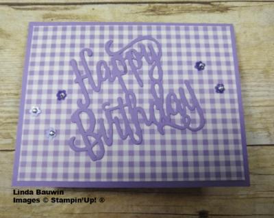 #birthdaycard  #lindabauwin