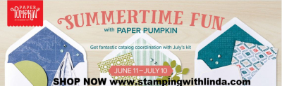 #summertimefun  #paperpumpkin  #lindabauwin