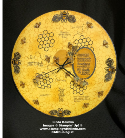 #honeybeebundle  #craftclock  #liindabauwin (1)