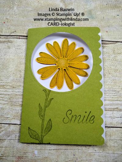 #scallopednotecard  #daisy  #lindabauwin