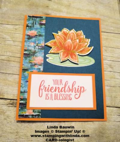 #lovelylilypad  #lilypaddies  #lilyimpressionsdesignerseriespaper  #lindabauwin