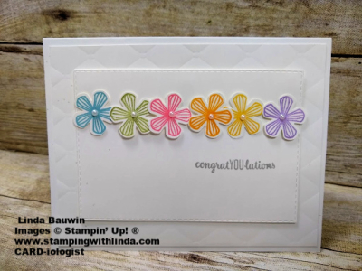 #thoughtfulbloomsstampset  #smallbloompunch  #saleeabration  #lindabauwin