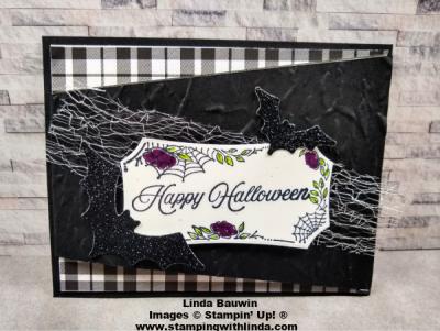 #diagonalopeningcard  #fancyfold  #creativefoldcard  #halloweencard  #lindabauwin