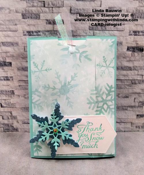 #pullupcard  #slidecard  #snowflakewishes  #lindabauwin