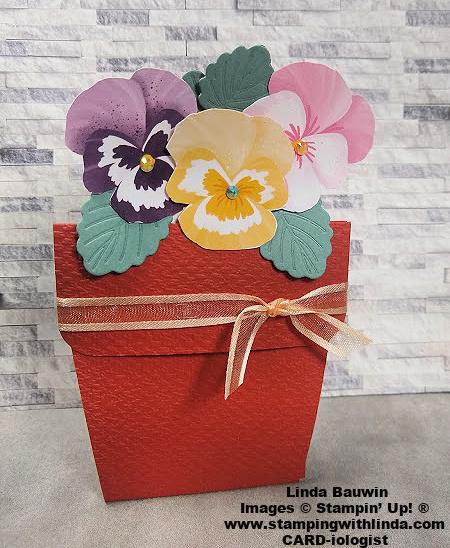 #pansyflowerpot  #lindabauwin