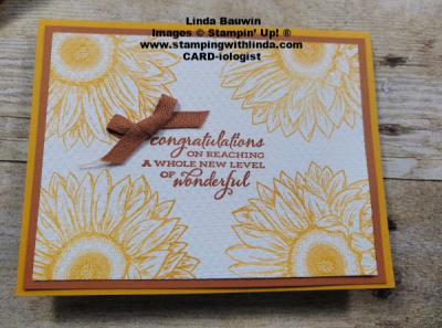#monochromaticcard  #celebratingsunflowers  #lindabauwin