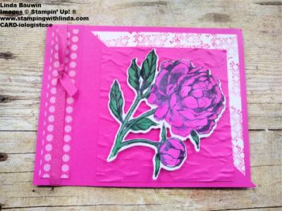 #diagonaloppening card  #creativefold  #lindabauwin