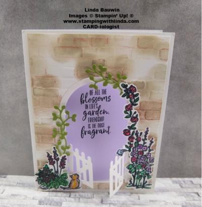 #gracesgardenstampset  #gardengatewaydies  #elainehinkle  #lindabauwin
