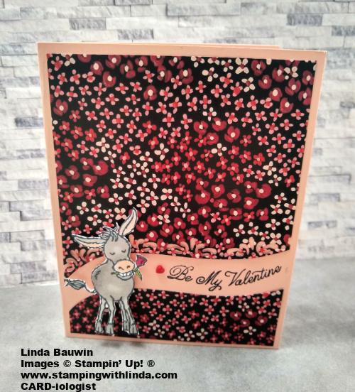 #darlingdonkey  #valentine'sdaycard  #lindabauwin