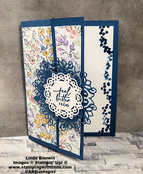 #funfold  #simplecardfold  #handpenned  #lindabauwin