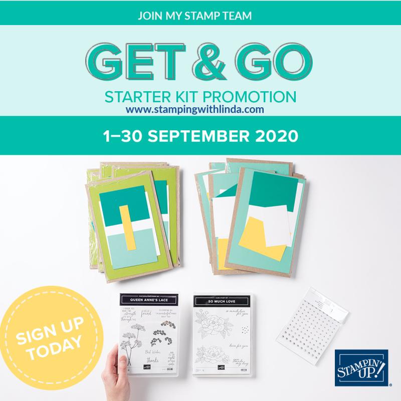 #get&go  #starterkitpromotion  #lindabauwin