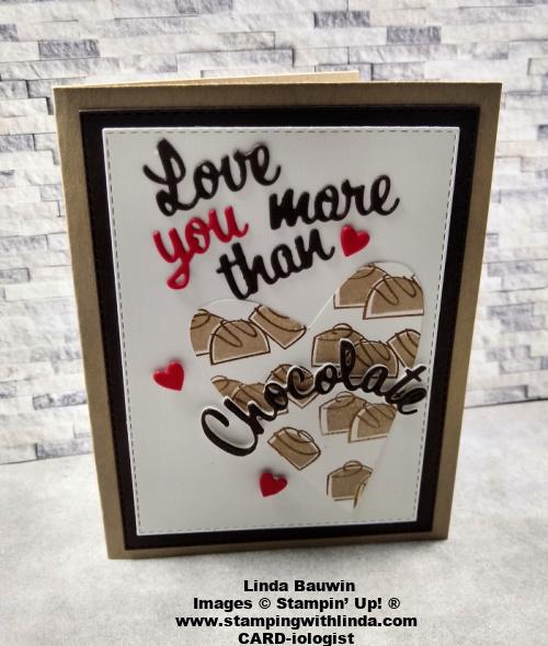 #loveyoumorethanchocolate  #leighamburgey  #lindabauwin