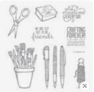#craftingforever  #lindabauwin