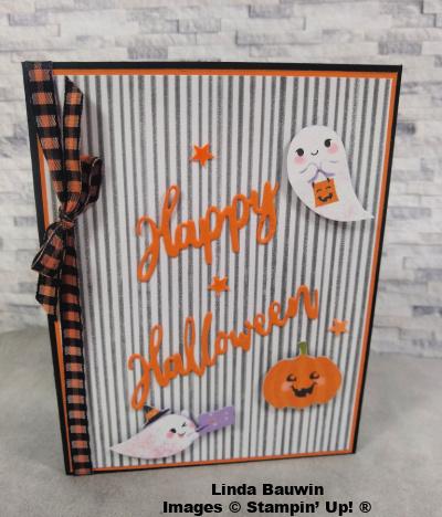 #halloweencard  #funfoldcard  #lindabauwin